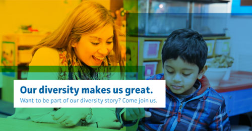 Our diversity makes us great. Want to be part of our diversity story? Come join us.