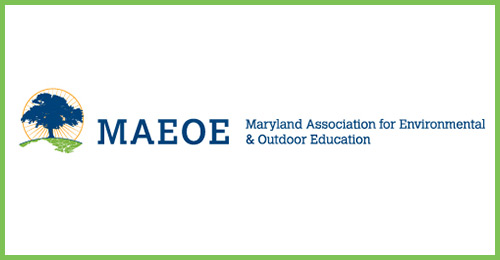 Logo, MAEOE Maryland Association for Environmental and Outdoor Education.