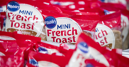 Grab and go french toast