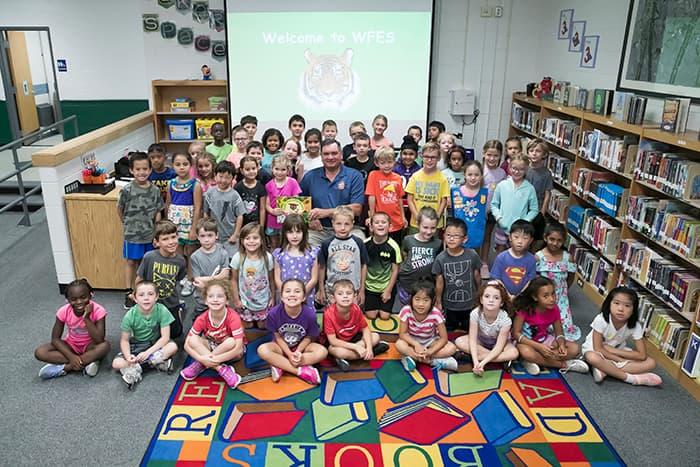 West Friendship Elementary School students.