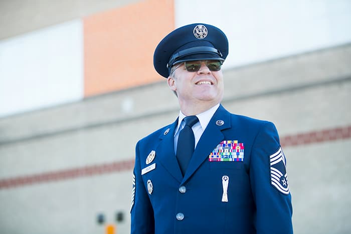 Chief Master Sergeant Donald Felch.