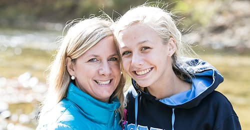 Ann Strozyk and daughter Mackenzie