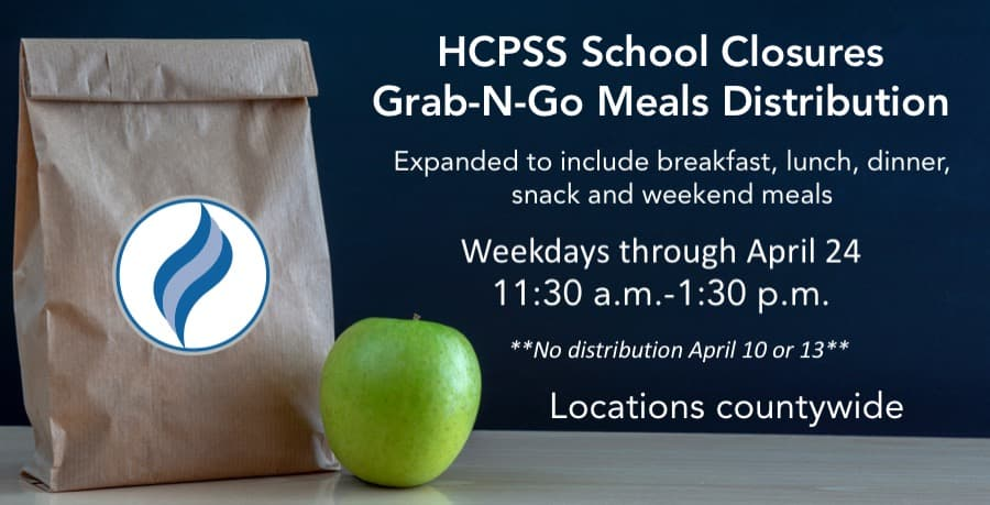 HCPSS Grab-N-Go Meals Distribution
