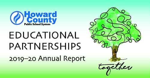 2019-20 Partnerships Annual Report cover.