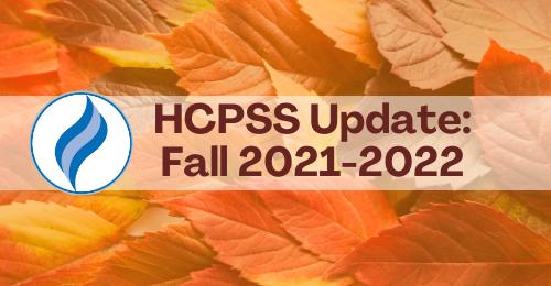 HCPSS Update: Fall 2021-22.