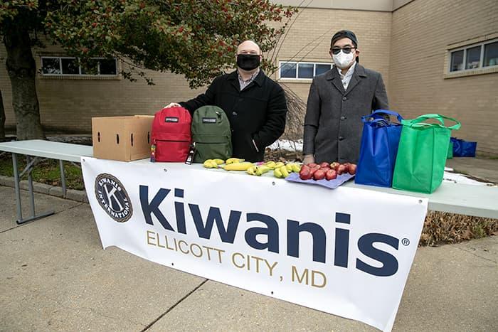 Members of Kiwanis Club of Ellicott City.
