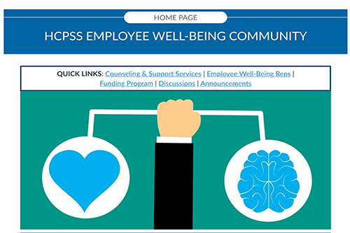 Thumbnail of Employee Well-Being Canvas page.