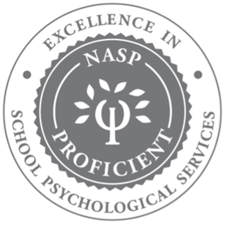 National Association of School Psychologists Excellence in School Psychological Services logo.